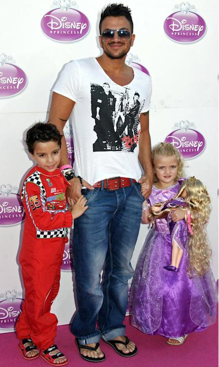 Hottest Celebrity Dads: Peter Andre