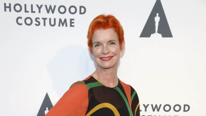 Sandy Powell attends the opening of Hollywood Costume in Los Angeles