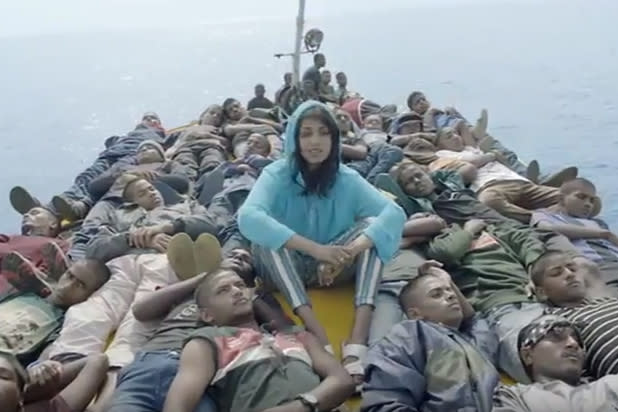 M.I.A. Travels With Refugees in 'Borders' Music Video (Video)