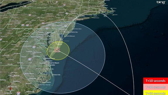 Rocket Launch Tonight Will Be Visible from US East Coast