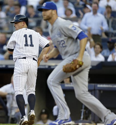 Cano & Overbay help Yankees break out, beat Royals