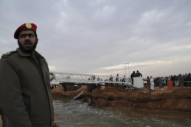 Tabuk flood rescue work in full swing
