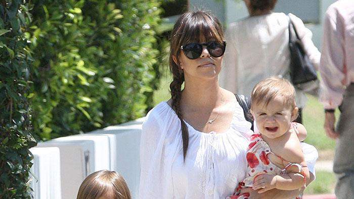Kourtney Kardashian Takes the Kids Out