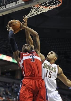 Wizards beat Bucks 102-94