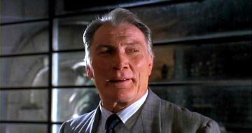 Jack Palance as Grissom in Warner Brothers' Batman