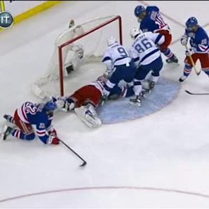 Johnson nets his third goal on Lundqvist