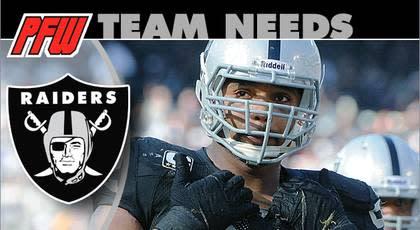 Oakland Raiders: 2013 team needs