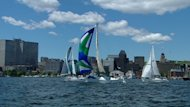 Thirty ships left Halifax Harbour on Sunday, en route to Saint-Pierre, France.