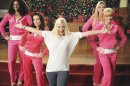 """This image released by ABC Family shows Tori Spelling, center, in a scene from the ABC Family original holiday musical, """"The Mistle-Tones,"""" also starring Tia Mowry. The special is part of the network's """"25 Days of Christmas"""" Premiering Sunday, Dec. 9 at 8:00 p.m. EST. (AP Photo/ABC Family, Fred Hayes)"""