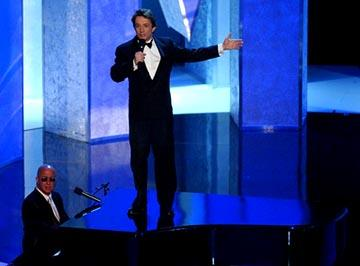 Paul Shaffer, Martin Short 55th Annual Emmy Awards - 9/21/2003