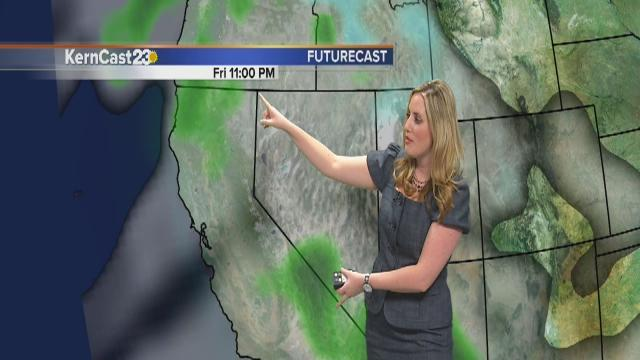 Friday Forecast: scattered showers continue