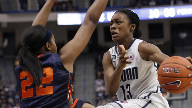 NCAA Womens Basketball: Syracuse at Connecticut