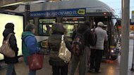Critics say the plan will mean fewer buses and longer wait times.