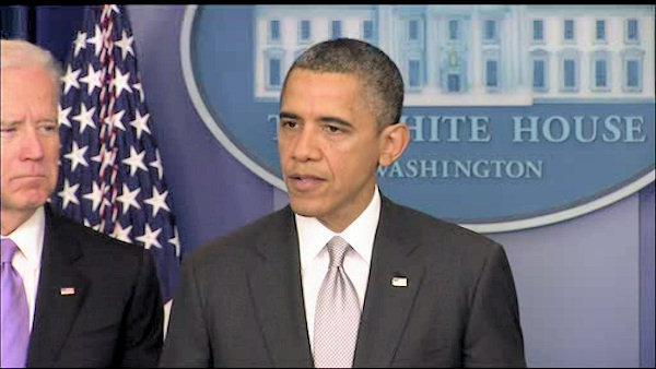 President Obama's statement on gun control