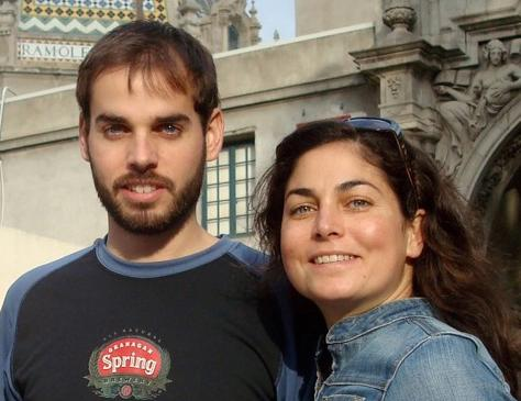 This Nov. 2009 photo courtesy of Dan Suski shows Kate Suski, right, and her brother Dan while on vacation in San Diego, Ca. The brother and sister are recovering in the eastern Caribbean island of St. Lucia after their ship sank on April 21 during a fishing trip, forcing them to swim almost 14 hours to reach land, according to the siblings. The Suskis said they are recovering after being hospitalized with severe dehydration and tendinitis. (AP Photo/Courtesy of Dan Suski)