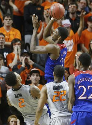 Jayhawks' Embiid to sit rest of regular season