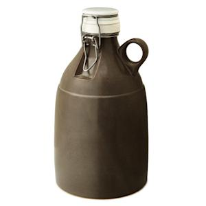 This undated publicity photo provided by UncommonGoods shows a stoneware beer growler handmade in Portland, OR.  With beer enjoyment trending high these days, consider a beer-related gear gift for Father's Day (www.uncommongoods.com). (AP Photo/UncommonGoods)