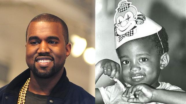 Kanye West's Baby Photo