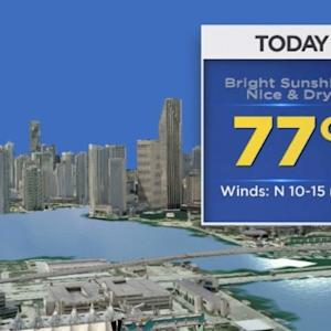 CBSMiami Weather @ Your Desk - 12/17/13 9:00 am