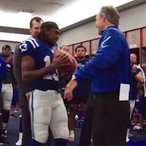 'Sound FX': Indianapolis Colts celebrate birth of wide receiver T.Y. Hilton's child