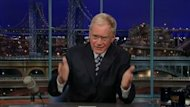 David Letterman apologized to his wife, Regina Lasko, and his staff at the taping of Monday's