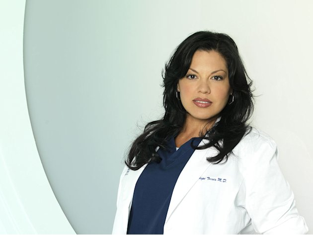 "Sara Ramirez stars as Callie Torres in ""Grey's Anatomy."""