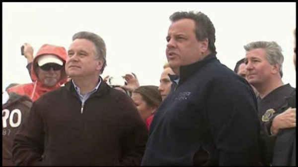 Christie heads to D.C. to push for Sandy aid
