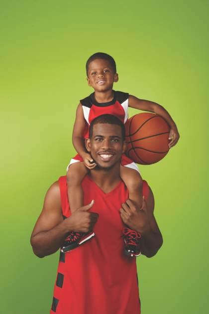 Chris Paul and his son -- Access Hollywood