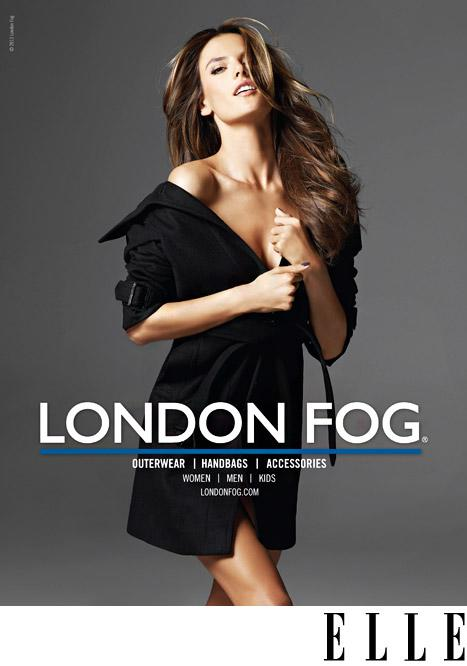 Alessandra Ambrosio and Daughter Anja Pose for London Fog's Spring Campaign