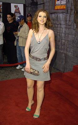 Michelle Trachtenberg, star of Harriet the Spy MTV Movie Awards - 6/5/2004