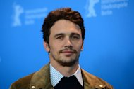 US actor James Franco poses at a photocall for the film 'Lovelace' during the 63rd Berlin International Film Festival on February 9, 2013