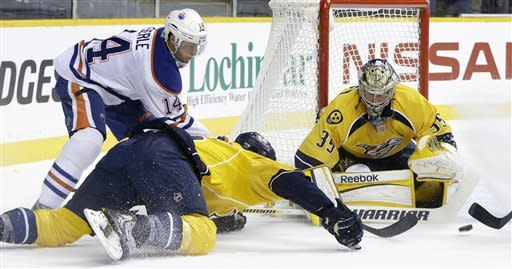 Predators snap 3-game skid, beating Oilers 6-0