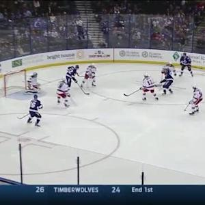 Henrik Lundqvist Save on Andrej Sustr (01:52/2nd)