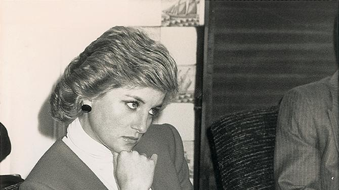 Princess Diana Auction Photos