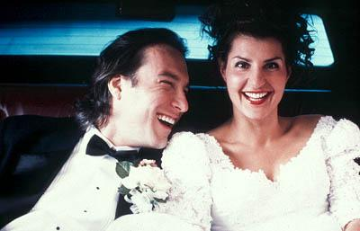 John Corbett and Nia Vardalos in IFC's My Big Fat Greek Wedding