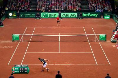 The match point of Andy Murray's Davis Cup victory was a thing of beauty