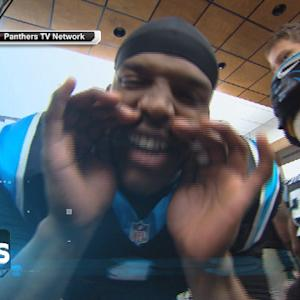 Carolina Panthers celebrate 8th straight win