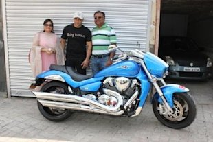 Salman Khan gets Suzuki M 1800RZ