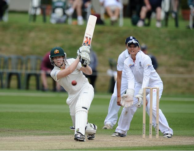 Cricket - First Womens Ashes Test Match - England Women v Australia Women - Day Four - Wormsley Cricket Ground