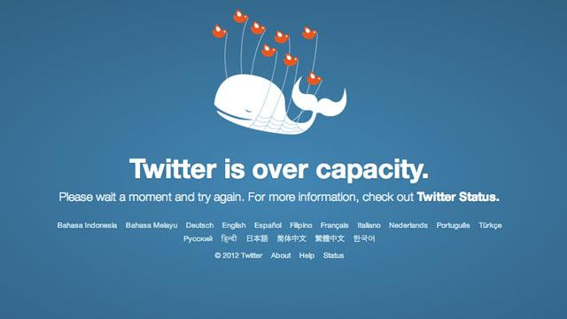 Twitter Has 2nd Outage in a Month