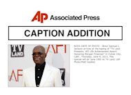 "ADDS DATE OF PHOTO - Actor Samuel L. Jackson arrives at the taping of ""TV Land Presents: AFI Life Achievement Award Honoring Morgan Freeman"" in Culver City, Calif., Thursday, June 9, 2011. The special will air June 19th on TV Land. (AP Photo/Matt Sayles)"