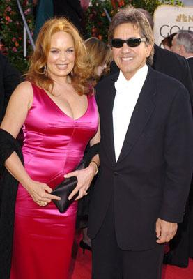 Catherine Bach with husband Peter Lopez 62nd Annual Golden Globe Awards - Arrivals Beverly Hills, CA - 1/16/05