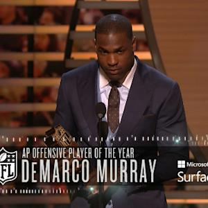 'NFL Honors': Dallas Cowboys running back DeMarco Murray wins Offensive Player of the Year award