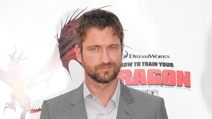How to Train Your Dragon LA Premiere 2010 Gerard Butler