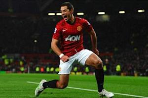 Chicharito voted Manchester United's top player for second straight month