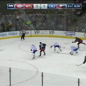 Carey Price Save on Ryan Johansen (11:32/2nd)