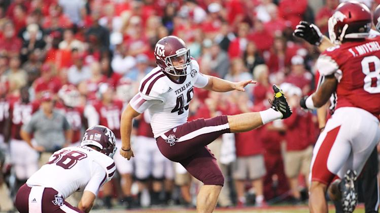 NCAA Football: Texas A&M at Arkansas