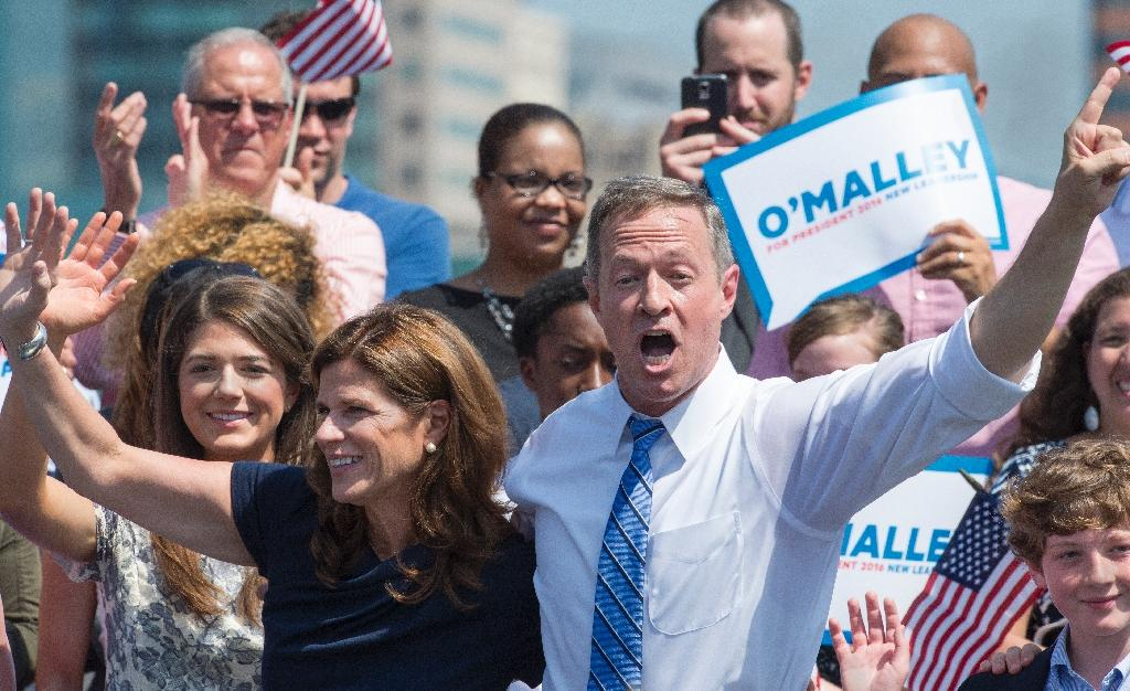 O'Malley launches White House bid, knocks rival Clinton
