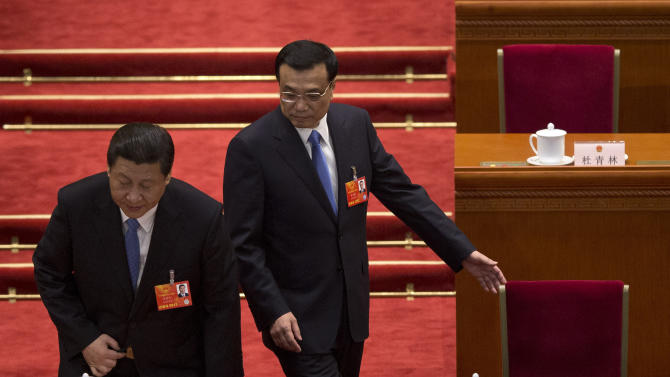 China leaders pledge clean government, less waste