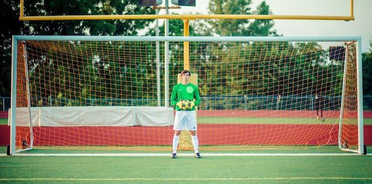 Shawnee Mission South goalie Will Skoog made a quartet of acrobatic saves in one 10-second span — Facebook
